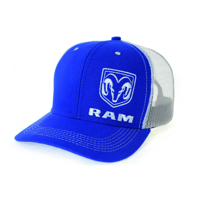 Boné RAM Azul com Tela Branca 74b36e8f3c1