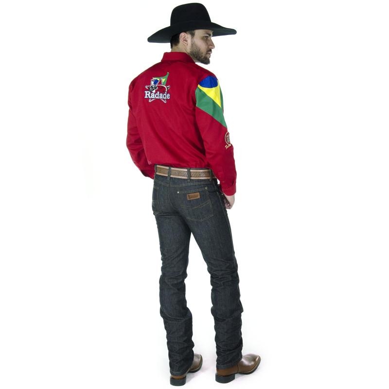 3a042a9b23 Calça Jeans Masculina Cowboy ST Amaciada Preta