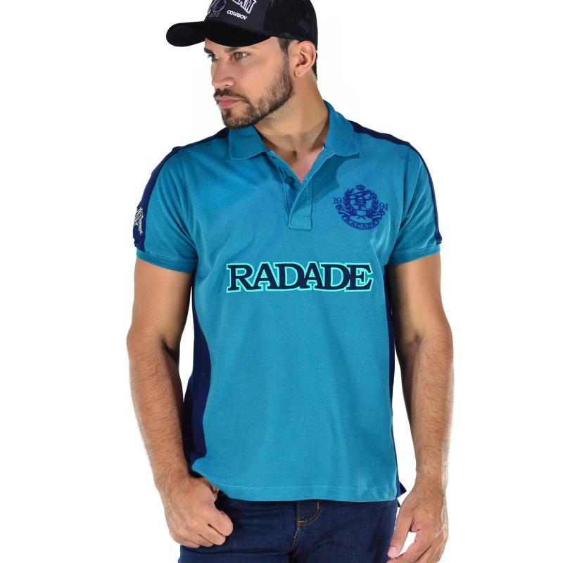 9cd89ec76 Pólo Radade Classic Patch Azul com Marinho - 0113