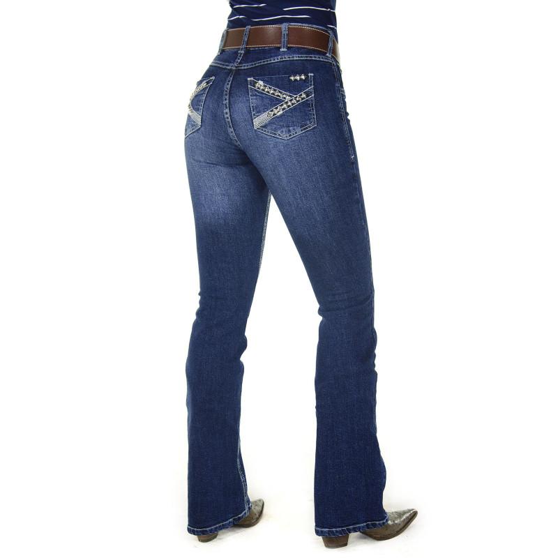 e5b6767468f3c Calça Jeans Feminina Radade CF Tacks Boot Cut
