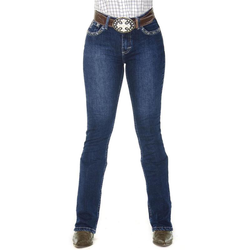 Calça Jeans Feminina Radade CF Miss Boot Cut 1e50e165335