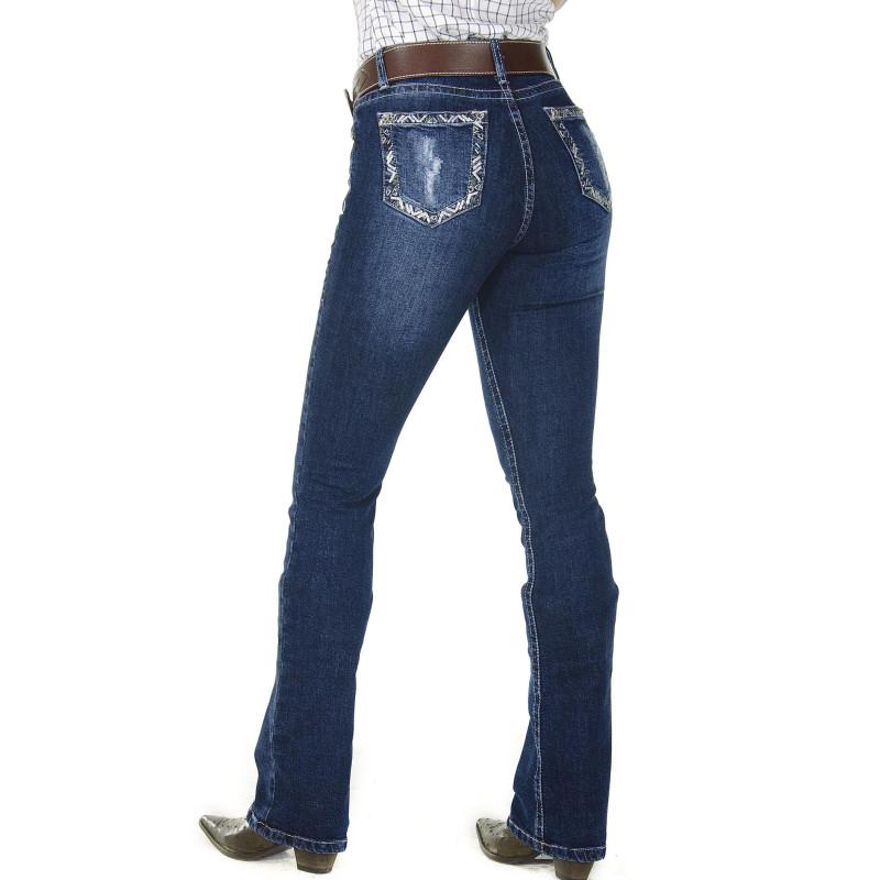 91d62dd0d2d0a Calça Jeans Feminina Radade CF Miss Boot Cut. Passe o mouse para ver mais  detalhes Ampliar imagem