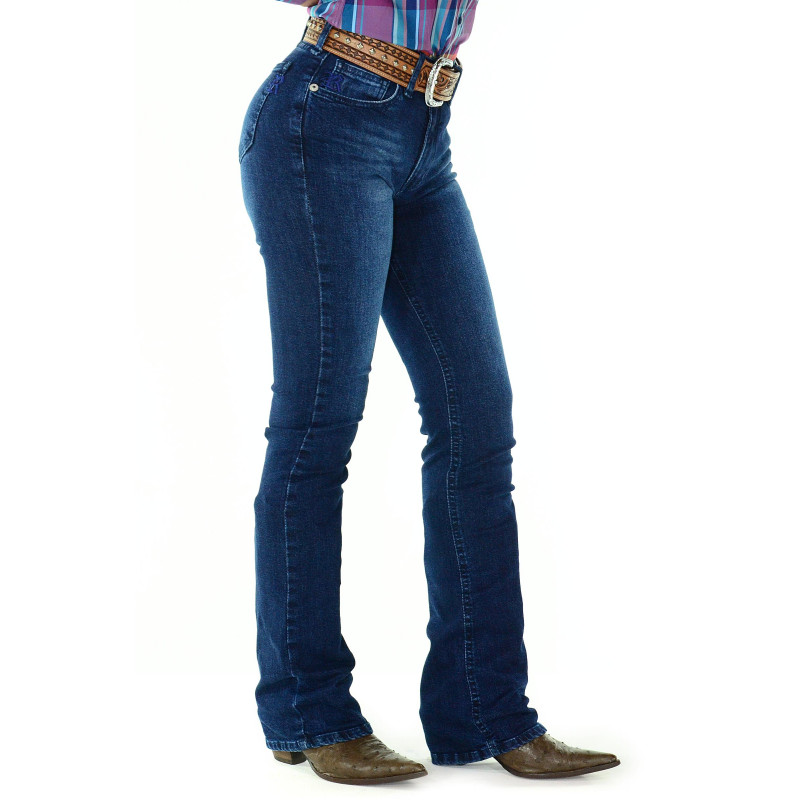 Calça Jeans Feminina Radade CF Flare Wash 474891bb3ae