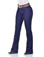 Calça Jeans Feminina Radade CF Lycra Flare Super