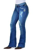 Calça Jeans Feminina Radade CF Lycra Tribal