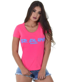 Baby Look Radade RAM Rodeo cor Pink - 1200