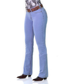 Calça Jeans Feminina Cowboy ST Delavé