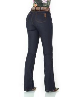 Calça Jeans Feminina Cowboy ST Lycra Boot Cut Lisa