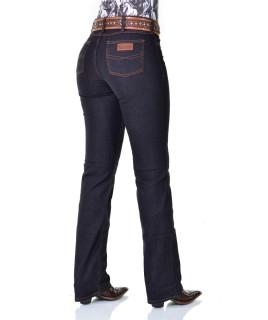 Calça Jeans Feminina Cowboy ST Lycra Preta