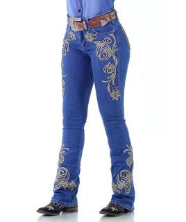 Calça Jeans Feminina Radade CF Lycra Bord Hope