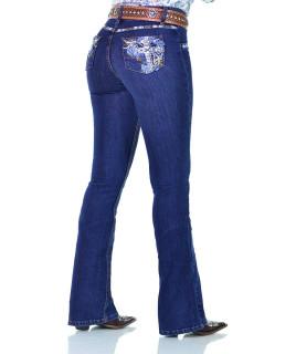 Calça Jeans Feminina Radade CF Lycra Cross