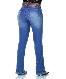 Calça Jeans Feminina Radade CF Lycra Torn