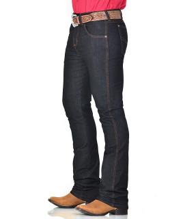 Calça Jeans Masculina Cowboy ST Lycra Preta