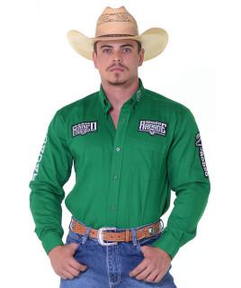 Camisa Manga Longa Bordada Rodeo RAM Radade cor Verde - 1214