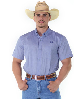 Camisa Radade RAM Manga Curta Azul - 1152