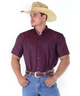 Camisa Radade RAM Manga Curta Vinho - 1153