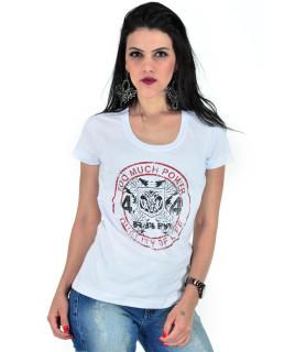 Camiseta Baby Look RAM Radade Team Branca - R 132