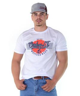 Camiseta Cowboy St Silk Branca - 1141