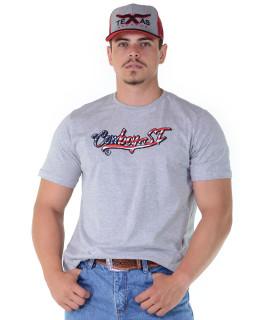 Camiseta Cowboy St Silk Cinza - 1145