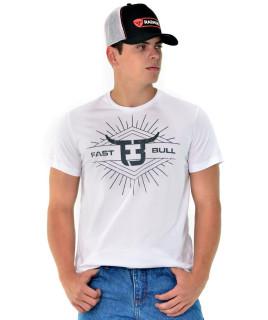 Camiseta Fast Bull Silk Branca - 0741