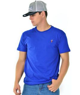 Camiseta Radade Bordada Azul - 0772