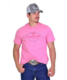 Camiseta Radade Bordada TH Rosa - 0931
