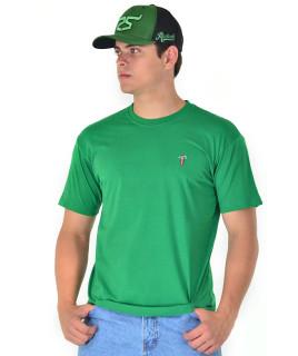 Camiseta Radade Bordada Verde - 0422
