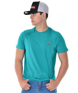 Camiseta Radade Bordada Verde - 0769