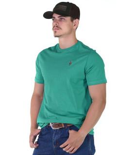 Camiseta Radade Bordada Verde água - 1080