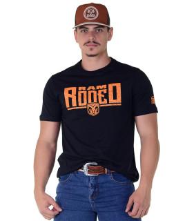 Camiseta RAM Radade Team Silk Preta - 1021