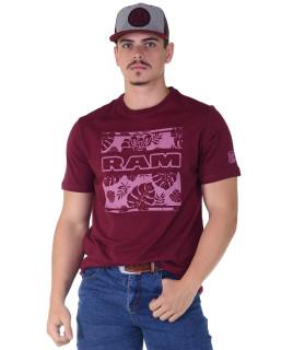 Camiseta RAM Radade Team Silk Vinho - 1024