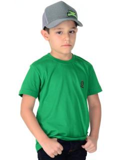 Camiseta Infantil Radade Bordada Verde - 0420