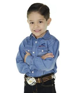 Camisa Radade Infantil Manga Longa ML SBI Jeans - 0253