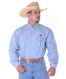 Camisa Masculina Radade MLSB Jeans Delave - 1188