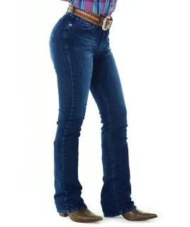 Calça Jeans Feminina Radade CF Flare Wash