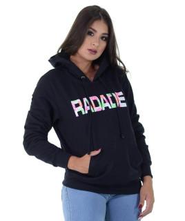 Moletom Feminino Radade RDE Preto - 1206