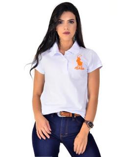 Polo Feminina Radade Lisa Classic Branca - 0842