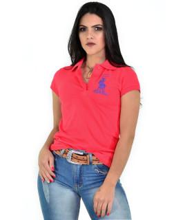Polo Feminina Radade Lisa Classic Goiaba - 0755