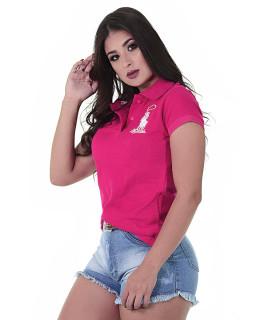 Polo Feminina Radade Lisa Classic Pink - 0841