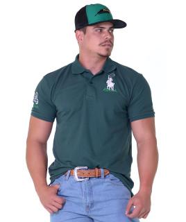 Polo Masculina Radade Classic Verde - 1224