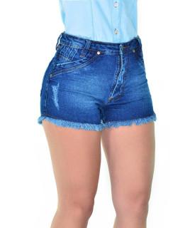 Short Feminino Cowboy ST Summer Lycra Azul