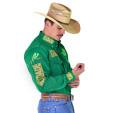 Camisa Radade Manga Longa Green Team - Verde - 0948