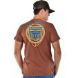 Camiseta Fast Bull Silk Marrom - 0739