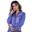 Camisete Radade Bordada ML Jeans - 1243