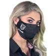 Máscara RAM Reutilizável Tecido Lavável Dupla Camada - Preta