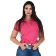 Polo Feminina Radade Mini Print Pink - 0885